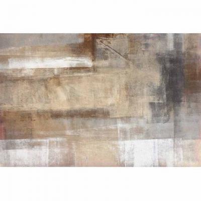 Szőnyeg 160x230 cm, absztrakt, barna - TAIGA